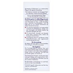 EUBOS TROCKENE Haut Urea 3% Körperlotion + gratis Eubos Handcreme 5% Urea 25 ml 200 Milliliter - Rückseite