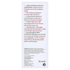 Eubos Trockene Haut Urea 5% Handcreme 75 Milliliter - Rückseite