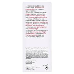 EUBOS Trockene Haut Urea 5% Nachtcreme 50 Milliliter - Rückseite
