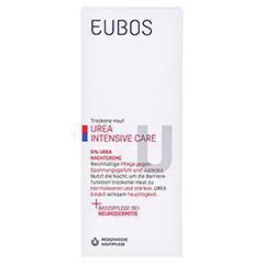 EUBOS Trockene Haut Urea 5% Nachtcreme 50 Milliliter - Vorderseite