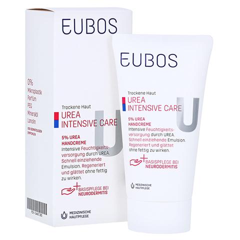 Eubos Trockene Haut Urea 5% Handcreme 75 Milliliter
