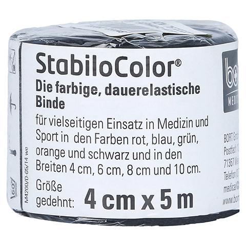 BORT StabiloColor Binde 4 cm schwarz 1 Stück