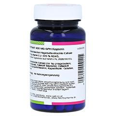 HAGEBUTTEN EXTRAKT 400 mg GPH Kapseln 60 Stück - Rechte Seite