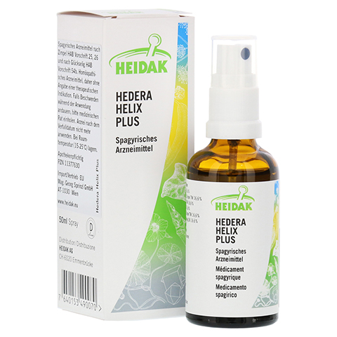 HEIDAK Hedera Helix plus Spray 50 Milliliter N1