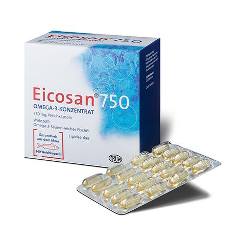 Eicosan 750 Omega-3-Konzentrat 240 Stück
