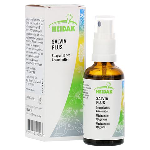 HEIDAK Salvia plus Spray 50 Milliliter N1