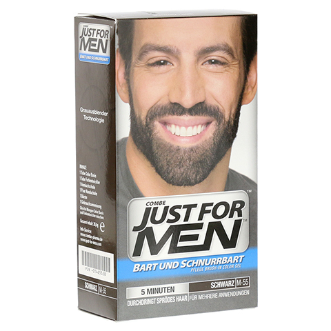 JUST for men Brush in Color Gel schwarz 28.4 Milliliter