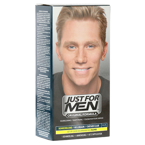 JUST for men Tönungsshampoo hellbraun 60 Milliliter