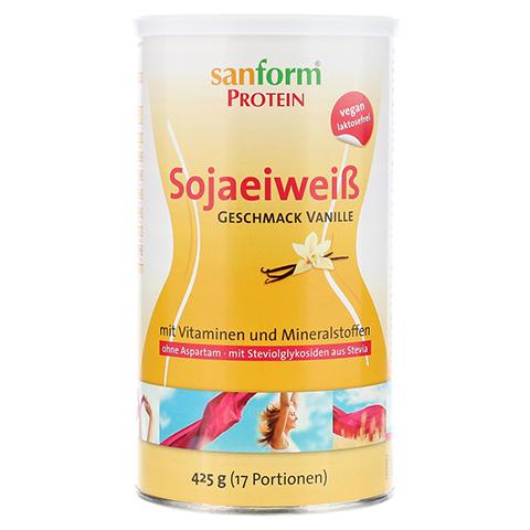 SANFORM Protein Sojaeiweiß Vanille Pulver 425 Gramm