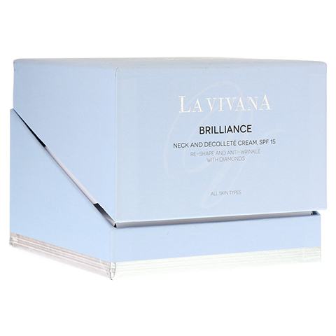 LA VIVANA Brilliance Neck & Decolleté Cream SPF 15 50 Milliliter