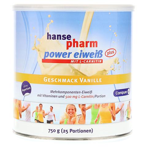 HANSEPHARM Power Eiweiß plus Vanille Pulver 750 Gramm