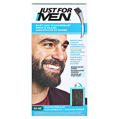 JUST for men Brush in Color Gel schwarzbraun 28.4 Milliliter - Vorderseite