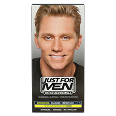 JUST for men Tönungsshampoo hellbraun 60 Milliliter - Vorderseite