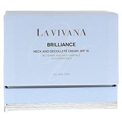 LA VIVANA Brilliance Neck & Decolleté Cream SPF 15 50 Milliliter - Vorderseite