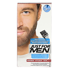 JUST for men Brush in Color Gel mittelbraun 28.4 Milliliter - Vorderseite
