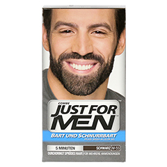 JUST for men Brush in Color Gel schwarz 28.4 Milliliter - Vorderseite