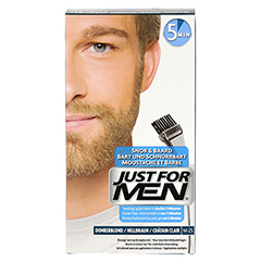 JUST for men Brush in Color Gel hellbraun 28.4 Milliliter - Vorderseite