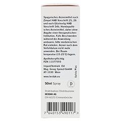 HEIDAK Salvia plus Spray 50 Milliliter N1 - Rechte Seite
