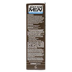 JUST for men Brush in Color Gel schwarz 28.4 Milliliter - Rechte Seite