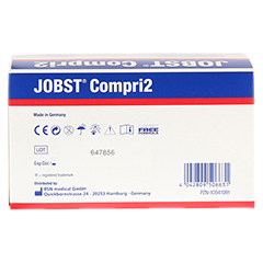 JOBST Compri2 25-32 cm 2-Lagen-Kompressionssystem 1 Stück - Rückseite