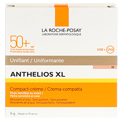 ROCHE POSAY Anthelios XL LSF 50+ Kompakt-Creme T02 9 Gramm - Rückseite