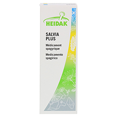 HEIDAK Salvia plus Spray 50 Milliliter N1 - Rückseite
