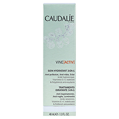 CAUDALIE VineActiv Hydratisierende 3in1 Pflege 40 Milliliter - Rückseite