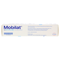 Mobilat DuoAktiv Schmerzgel 100 Gramm N2 - Oberseite