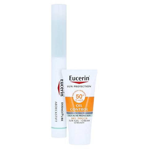 EUCERIN DermoPure Abdeckstift + gratis Eucerin Sun Oil Control Face LSF50+ 20ml 2.0 Gramm