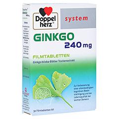 Doppelherz Ginkgo 240mg system 30 Stück N1