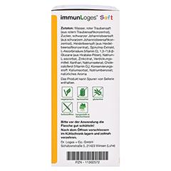 immunLoges Saft 150 Milliliter - Linke Seite
