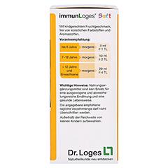 immunLoges Saft 150 Milliliter - Rechte Seite