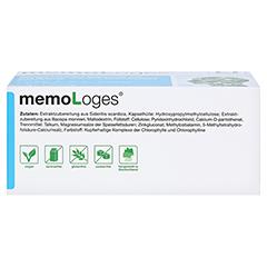 memoLoges 120 Stück - Unterseite