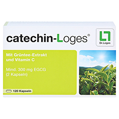 CATECHIN-Loges Kapseln 120 Stück - Vorderseite