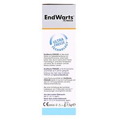 ENDWARTS Freeze 7.5 Gramm - Linke Seite