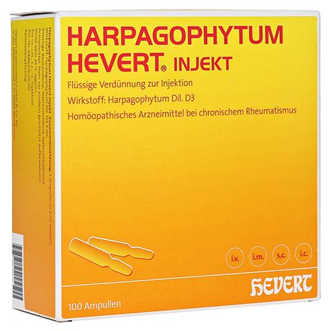 HARPAGOPHYTUM HEVERT injekt Ampullen 100 Stück N3