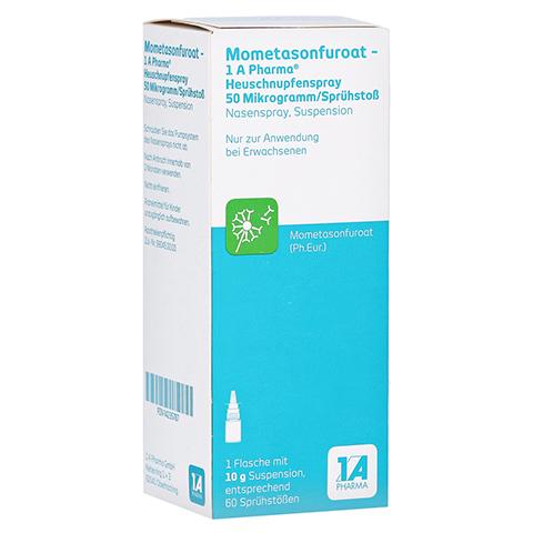 MOMETASONFUROAT-1A Ph.Heuschnupfenspr.50µg/Sp.Stoß 10 Gramm