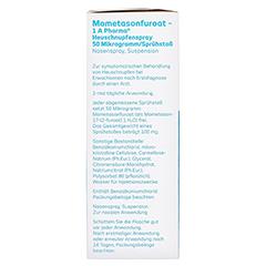 MOMETASONFUROAT-1A Ph.Heuschnupfenspr.50µg/Sp.Stoß 10 Gramm - Rechte Seite
