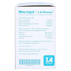 Macrogol-1A Pharma 20 Stück - Linke Seite