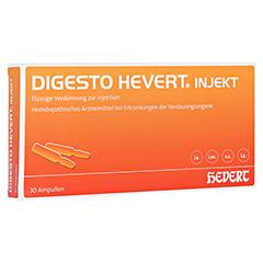 DIGESTO Hevert injekt Ampullen 10x2 Milliliter N1