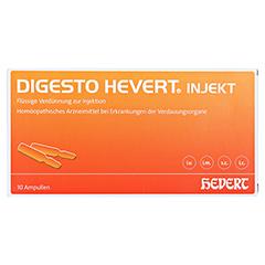 DIGESTO Hevert injekt Ampullen 10x2 Milliliter N1 - Vorderseite