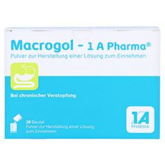 Macrogol-1A Pharma 20 Stück - Vorderseite