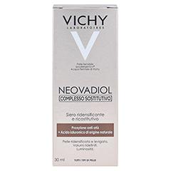 Vichy Neovadiol Ausgleichender Wirkstoffkomplex Reaktivierendes Konzentrat 30 Milliliter - Rückseite