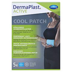 DERMAPLAST Active Cool Patch 10x14 cm 5 Stück - Vorderseite