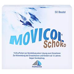 MOVICOL Schoko Plv.z.Her.e.Lsg.z.Einnehmen 50 Stück - Vorderseite