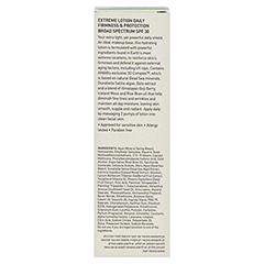 AHAVA Extreme Lotion Daily Firmness & Protection Broad Spectrum SPF30 + gratis Ahava Mineral Toning Water 250 ml 50 Milliliter - Rückseite