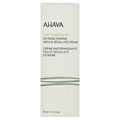 AHAVA Extreme Firming Neck & Décolleté Cream 75 Milliliter - Vorderseite
