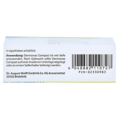 Dermowas Compact Seife 100 Gramm - Unterseite
