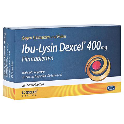Ibu-Lysin Dexcel 400mg 20 Stück