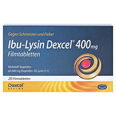 Ibu-Lysin Dexcel 400mg 20 Stück - Vorderseite